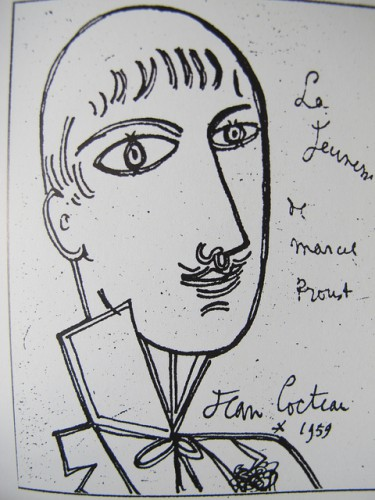 Cocteau Proust taille moyenne